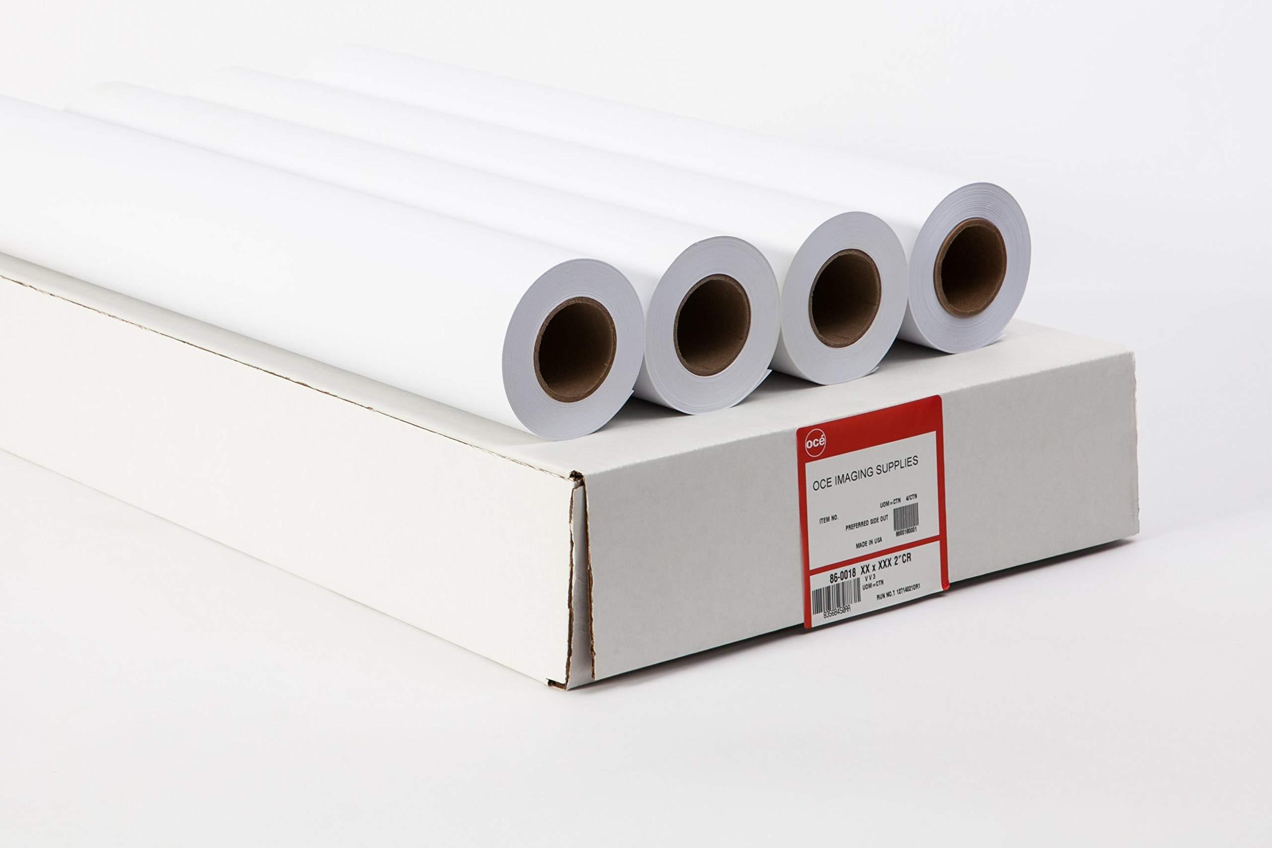 Oce 24# Deluxe Inkjet - 86900 Plotter Paper - 34'' x 150' (4 roll carton - 2 inch core)