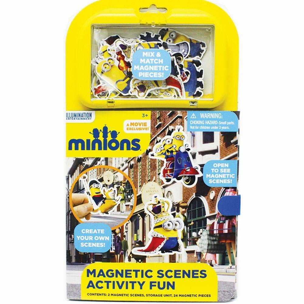 Minions Magnetic Scenes Activity Fun by Tara Toy Corporation