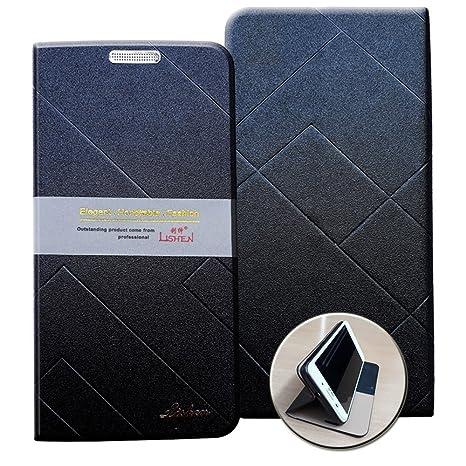 sports shoes dda16 59abd Redmi Note 4 Flip Cover-Black-LISHEN Royal Series: Buy Redmi Note 4 ...