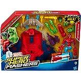 Hasbro A8497EU4 - Spiderman Hero Mashers Spider Smash Jet