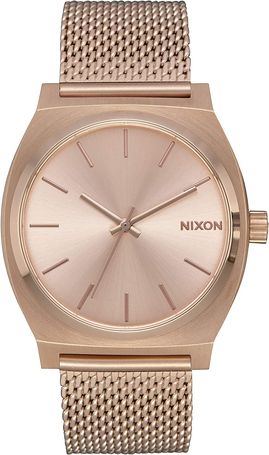 Nixon Time Teller Milanese -Spring 2018- All Rose Gold