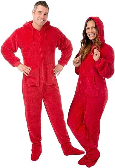 Big Feet Pyjama Co Pijamas de patas pijamas de felpa con capucha