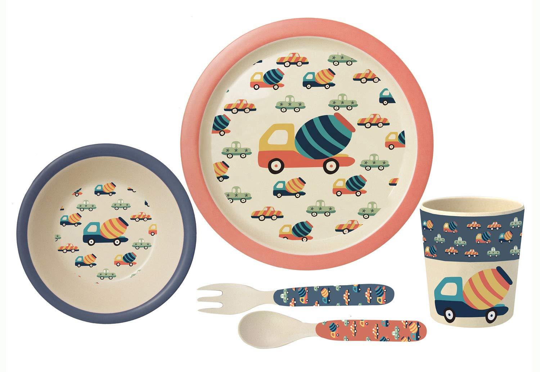 Set de desayuno multicolor multicolor