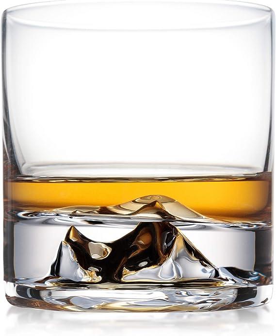 Mount Everest Whiskey Glasses Set of 2