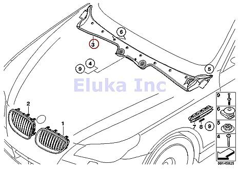 amazon bmw genuine exterior trim grill seals windshield cowl BMW E60 M5 Body Kit amazon bmw genuine exterior trim grill seals windshield cowl cover 525i 525xi 530i 530xi 545i 550i m5 528i 528xi 535i 535xi 550i 530xi 535xi