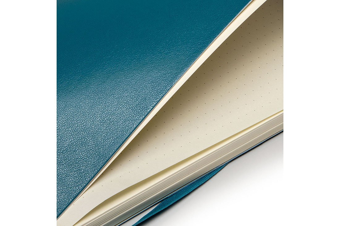Moleskine Classic Notebook Large (5 x 8.25''), Dotted Pages, Underwater Blue, Soft Cover Notebook for Writing, Sketching, Journals by Ingramcontent (Image #12)