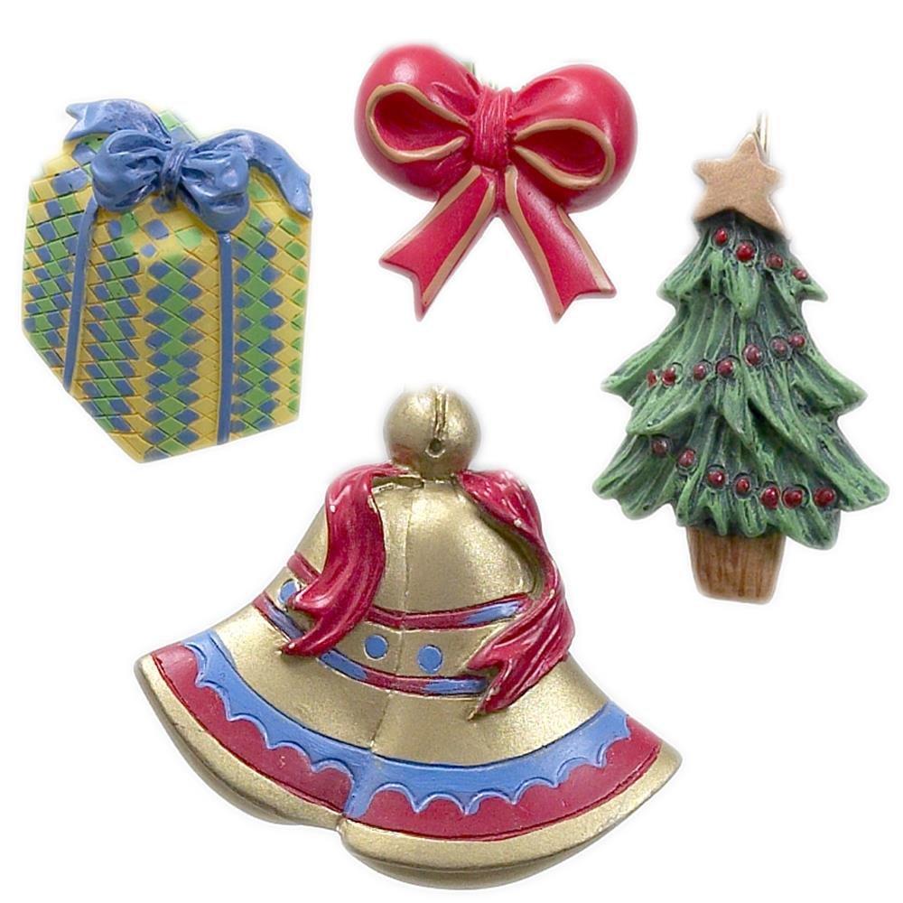 Christmas Shower Curtain Hooks - Set of 12 (Noel)
