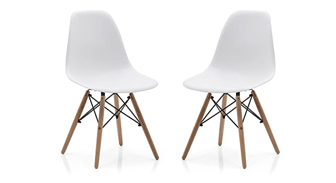 Urban Ladder DSW Dining Chair (Natural)