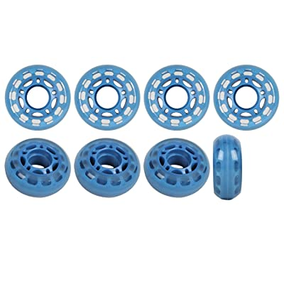 Player's Choice Roller Hockey Goalie Wheels 60mm 78a Set of 8 for Indoor Inline Skates : Inline Skate Replacement Wheels : Sports & Outdoors
