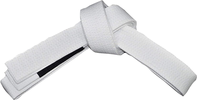ROX Fit BJJ Belt Adult Size Erwachsenengr/ö/ße Brasilianischer Jiu-Jitsu-G/ürtel aus 100/% Baumwolle f/ür langlebiges und leichtes Design F/ür den Wettbewerb geeignet BJJ Gi Belts Wei/ß