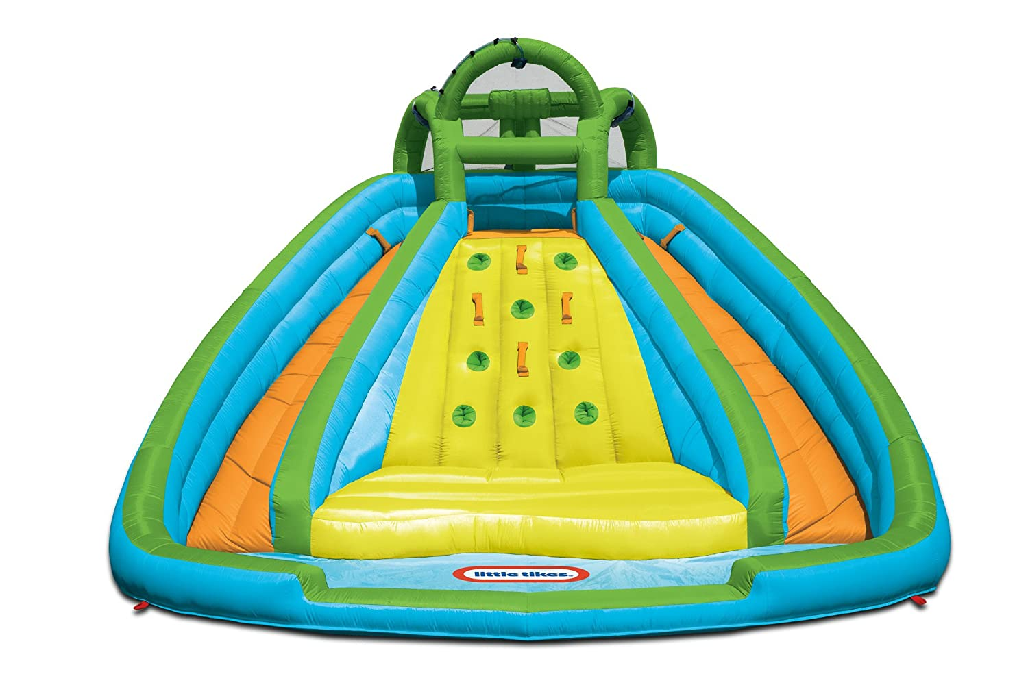 amazon com little tikes rocky mountain river race inflatable
