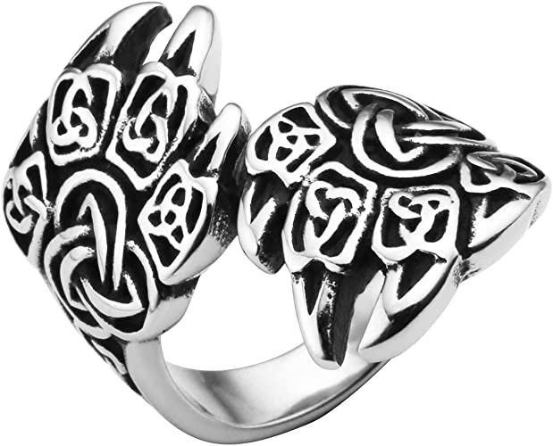 bague homme ours