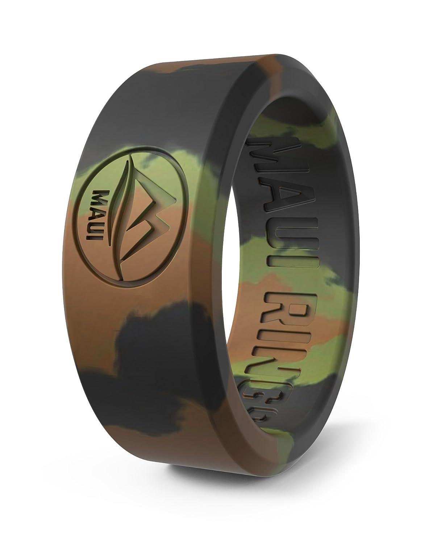 Maui Rings, anello in silicone da matrimonio, da uomo, anello nuziale, anello di fidanzamento