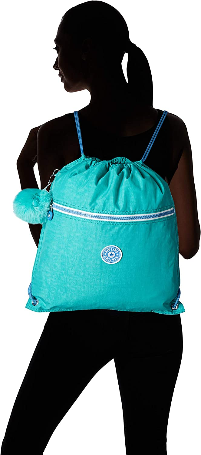 Kipling - SUPERTABOO - Sac de piscine - Rouge ( Happy Red ) - (Rouge) Bleu (Deep Aqua C)