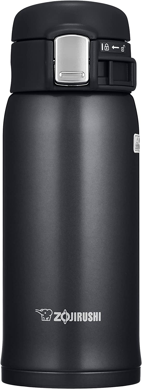 Zojirushi Stainless Steel Mug, 12-Ounce, Silky Black