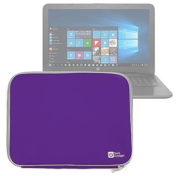 DURAGADGET Funda De Neopreno Morada para Portátil HP 250 G4 / ProBook 455 G3 / Spectre