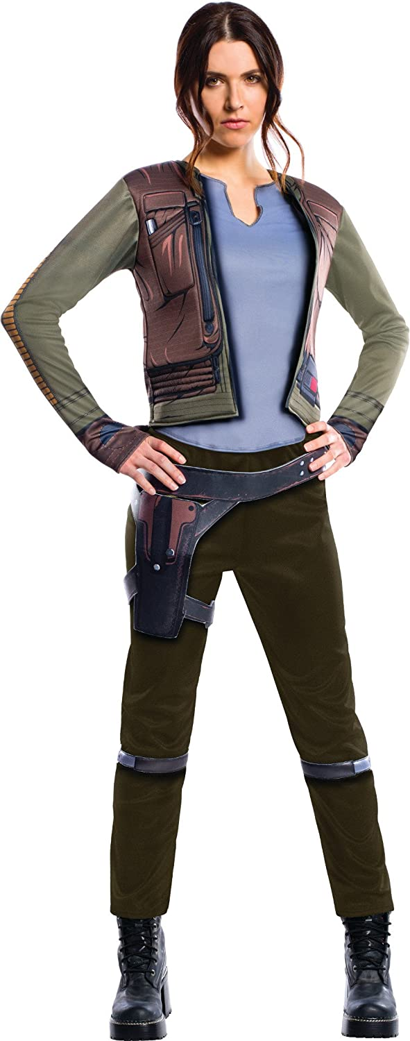 Rubies Star Wars Rogue One Deluxe Jyn Erso Adult Costume L