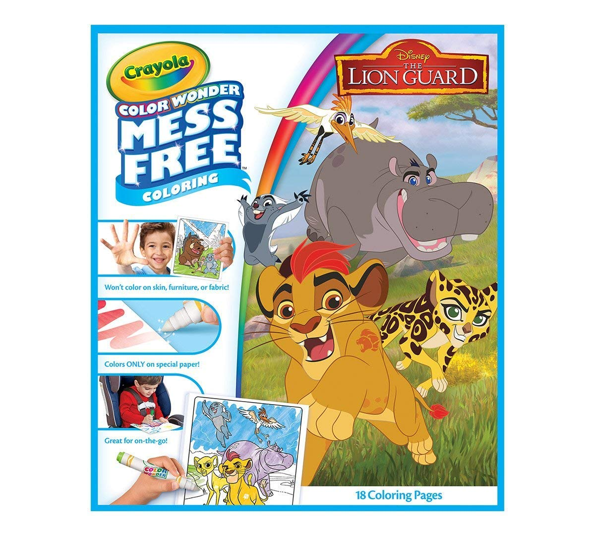 Blaze 10pk Markers Lion Guard Beat Bugs Crayola Color Wonder Bundle