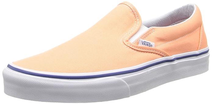 Vans Unisex-Erwachsene Classic Slip-On Low-top Orange