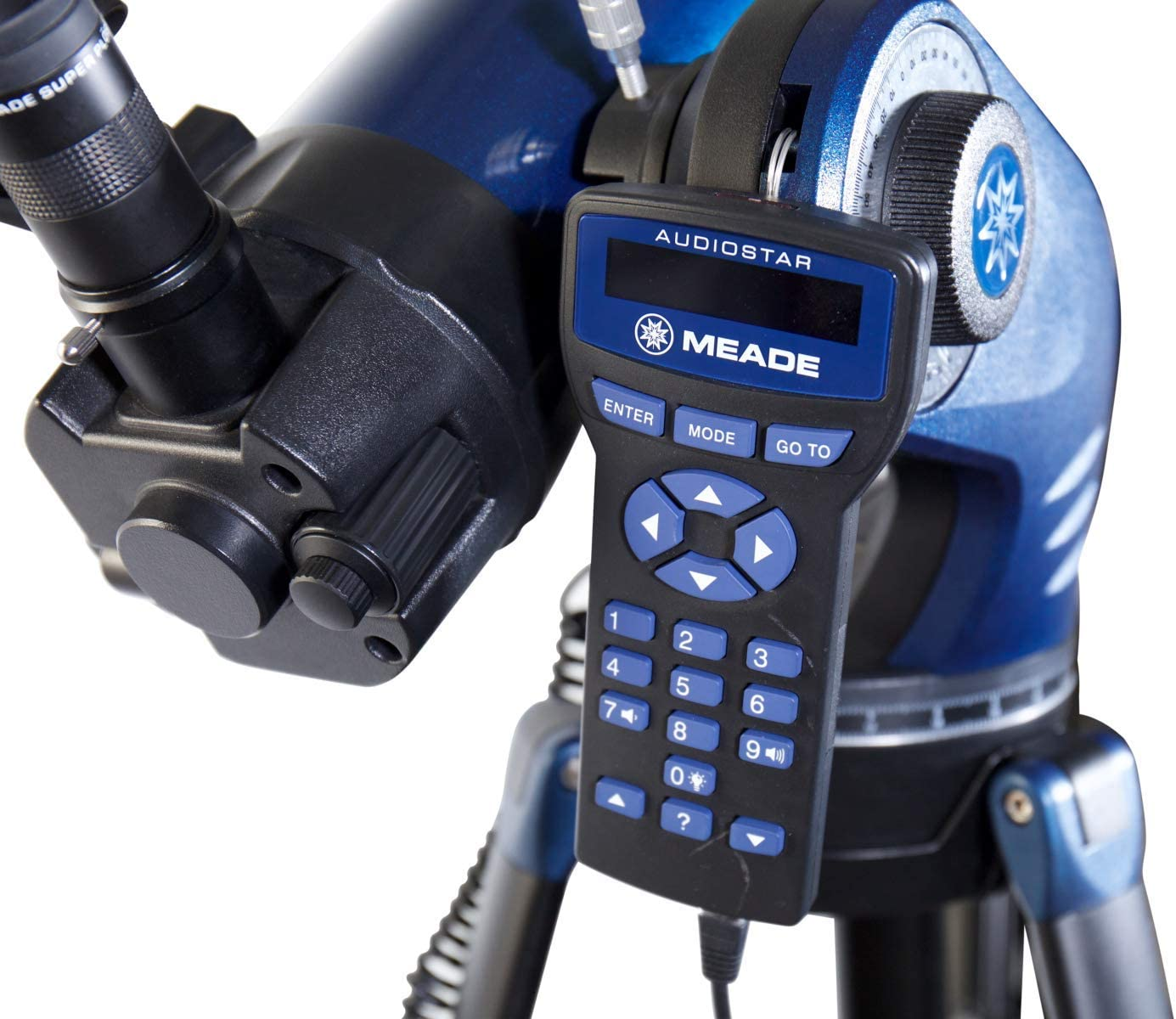 Black Meade Instruments 218004 StarNavigator NG 130 Reflector Computerized Talking Telescope with Accessories