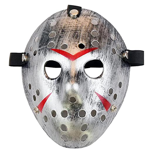 Homelix Horror Disfraz Hockey Jason Máscara Halloween Party Cosplay Accesorios: Amazon.es: Juguetes y juegos