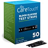 Care Touch Blood Glucose Test Strips (50 Count) for Use with Care Touch Monitor