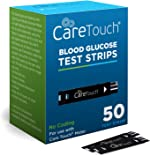 Care Touch Blood Glucose Test Strips (50 Count) for Use with