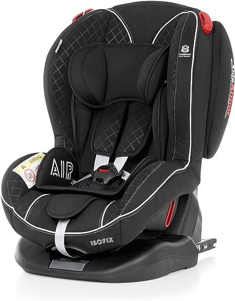 Innovaciones MS, Silla de coche grupo 0+/1/2, negro: Amazon.es: Bebé