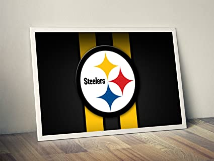 729658a1c5b Image Unavailable. Image not available for. Color: Pittsburgh Steelers  Limited Poster Artwork ...