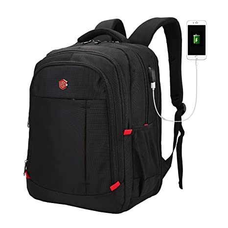 e1efe5b683 Laptop Backpack, Large Scansmart TSA Friendly Travel Bag, Durable Business  Backpack with USB Charging