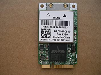 DRIVERS UPDATE: DELL LATITUDE D531 WIRELESS CARD