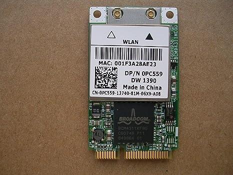 DELL BROADCOM 1390 DRIVER WINDOWS XP