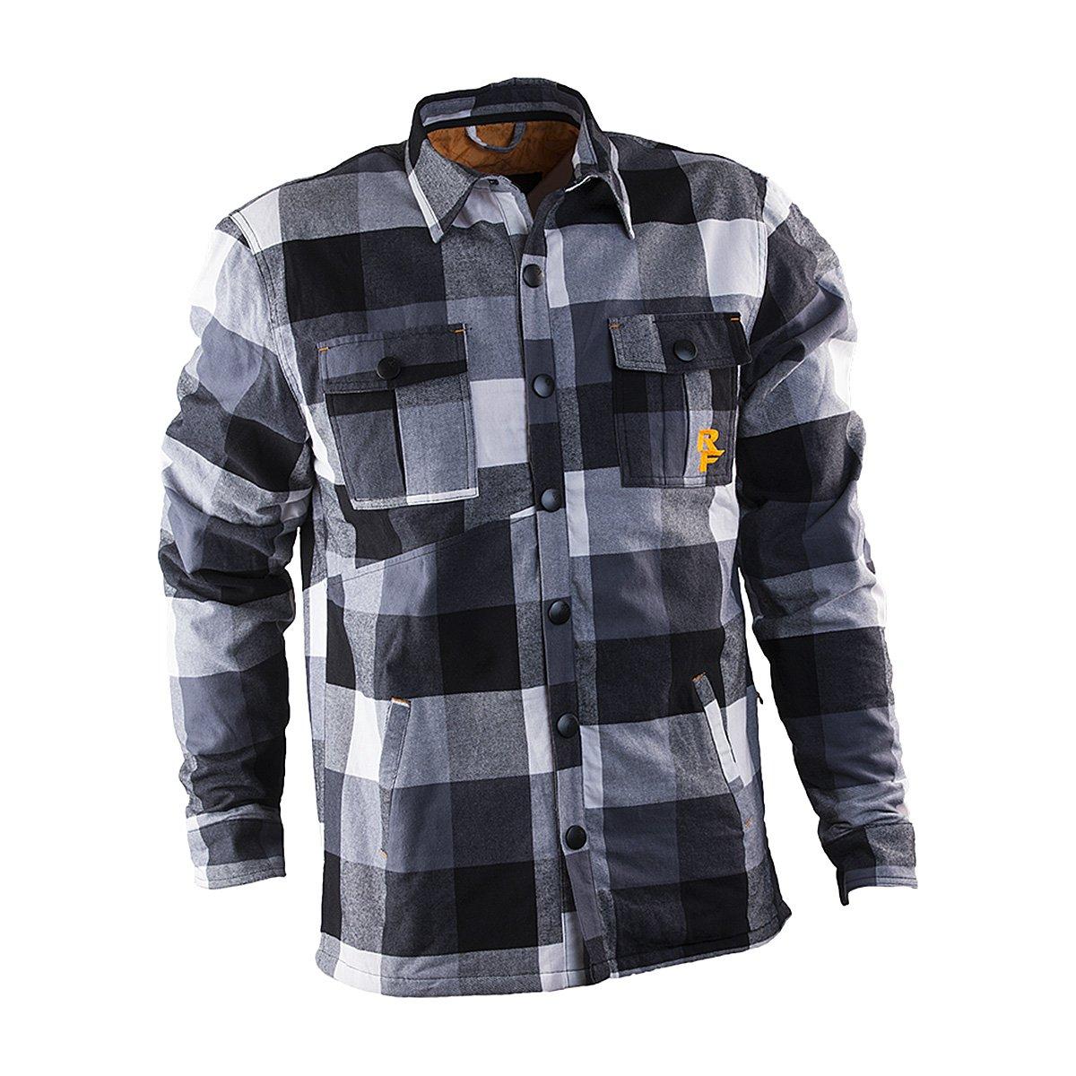 RaceFace Loam Ranger Jacket, Black/White, Small