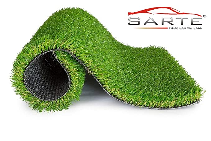 SARTE Arificial Grass Balcony Or Doormat, Soft and Durable Plastic Turf Carpet Mat, Artificial Grass(2 X 3 Feet) (by Sarte) Artificial Shrubs at amazon