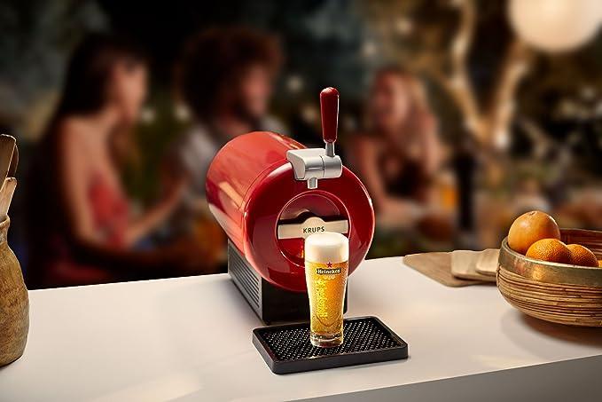Pack Heineken THE SUB | Tirador de cerveza de barril THE SUB Rouge Edition + 2 TORP Heineken barril de cerveza de 2 litros: Amazon.es: Hogar