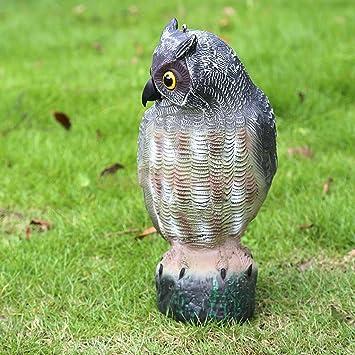 Generic Realistic Owl Decoy Bird Deter Scarer Pest Control Garden Defense  Scarecrow