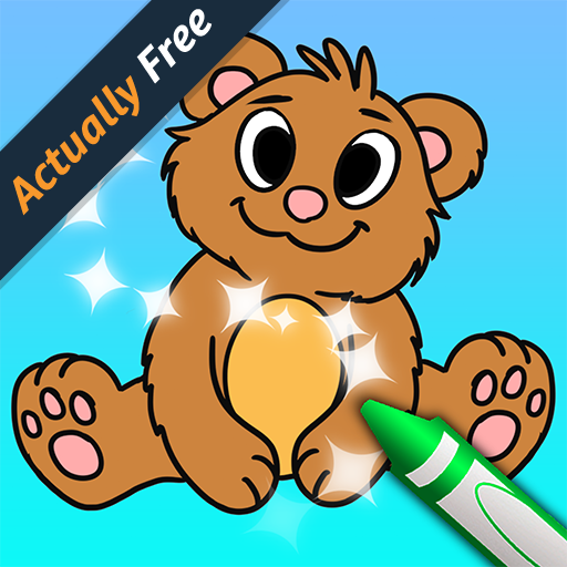 amazoncom sparkling color book for kids paint with animated sparkle colors appstore for android - Kids Paint Book