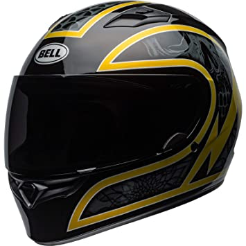 Amazon.es: Bell 7101573 Qualifier Scorch Casco, Negro/Dorado Flake, Talla XL