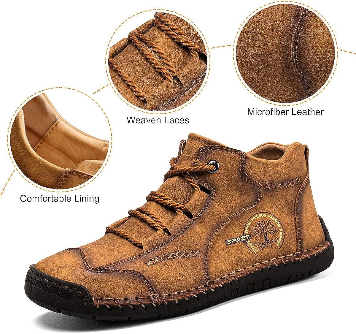 gracosy Weiche Mokassins Herren Flach Casual Loafers Atmungsaktiv Leicht Bootsschuhe Outdoor Trekking-Schn/ürschuhe L/ässiger Fahren Halbschuhe Mokassins Slipper f/ür Damen Herren