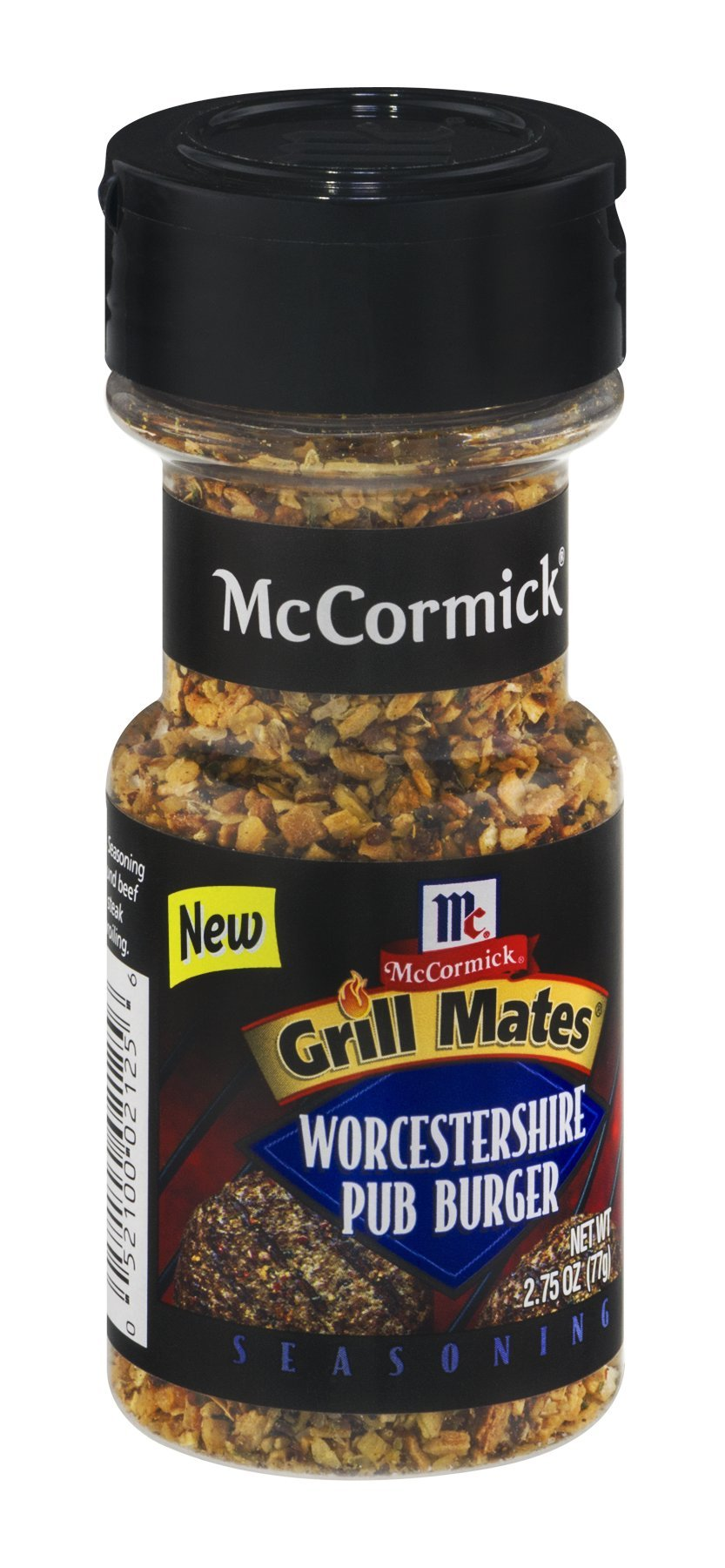 McCormick Grill Mates Worcestershire Pub Burger Seasoning, 2.75 OZ (Pack - 18)