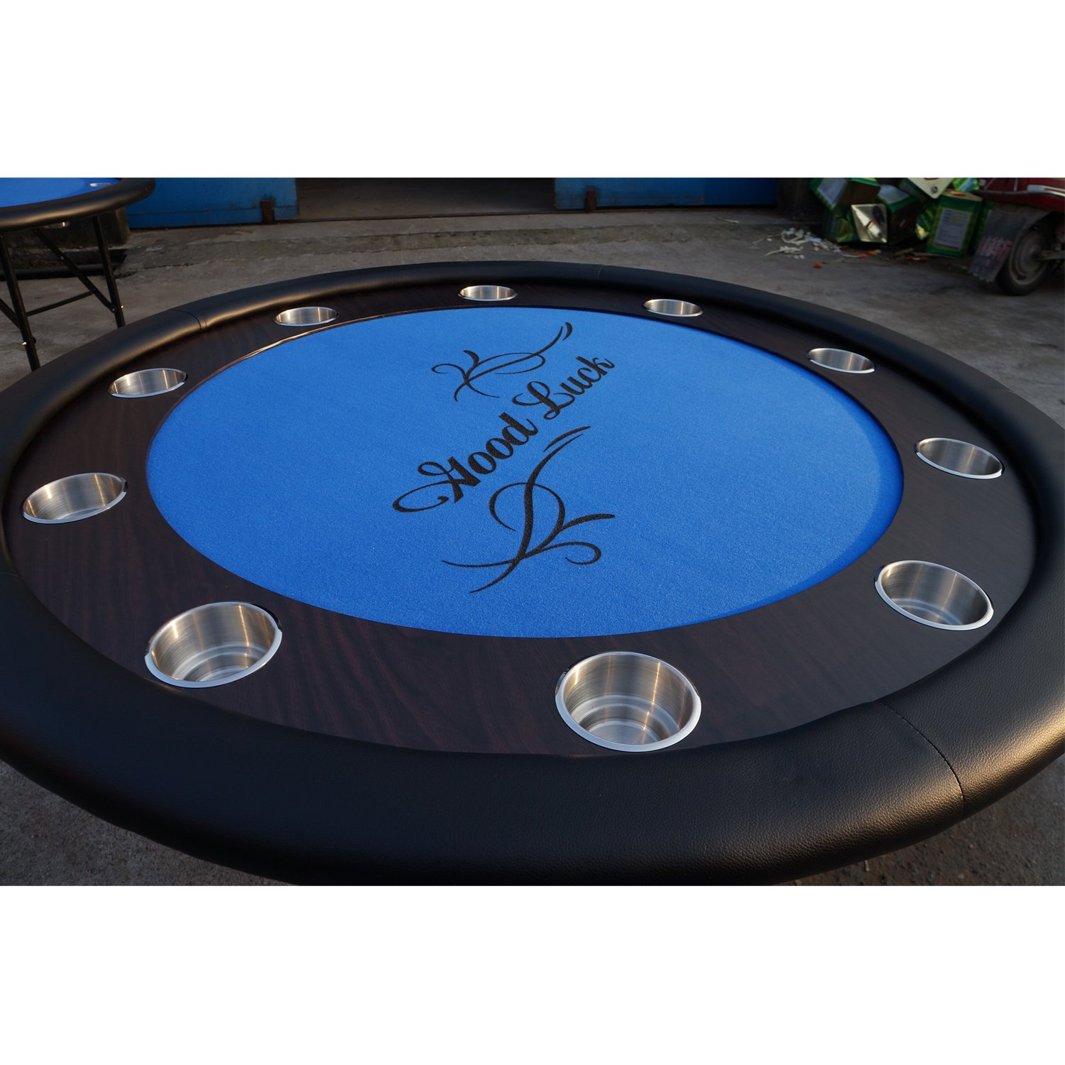 YH Poker Dual Size Stainless Steel Poker Table Cup Holders