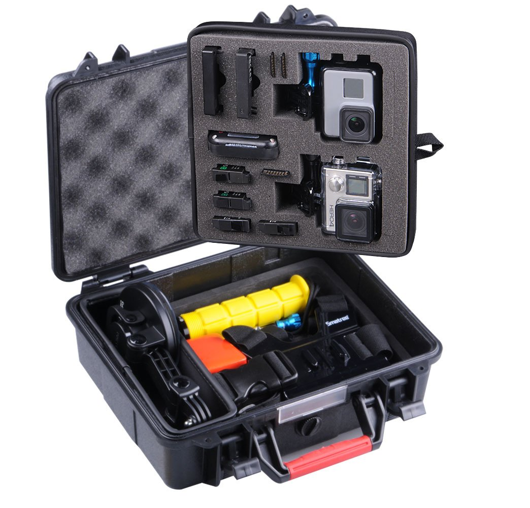 Smatree SmaCase GA500 Floaty/Water-Resist Hard Case for Gopro Hero 6,5,4, 3+, 3, 2, 1,GOPRO HERO (2018)(Camera and Accessories NOT included)