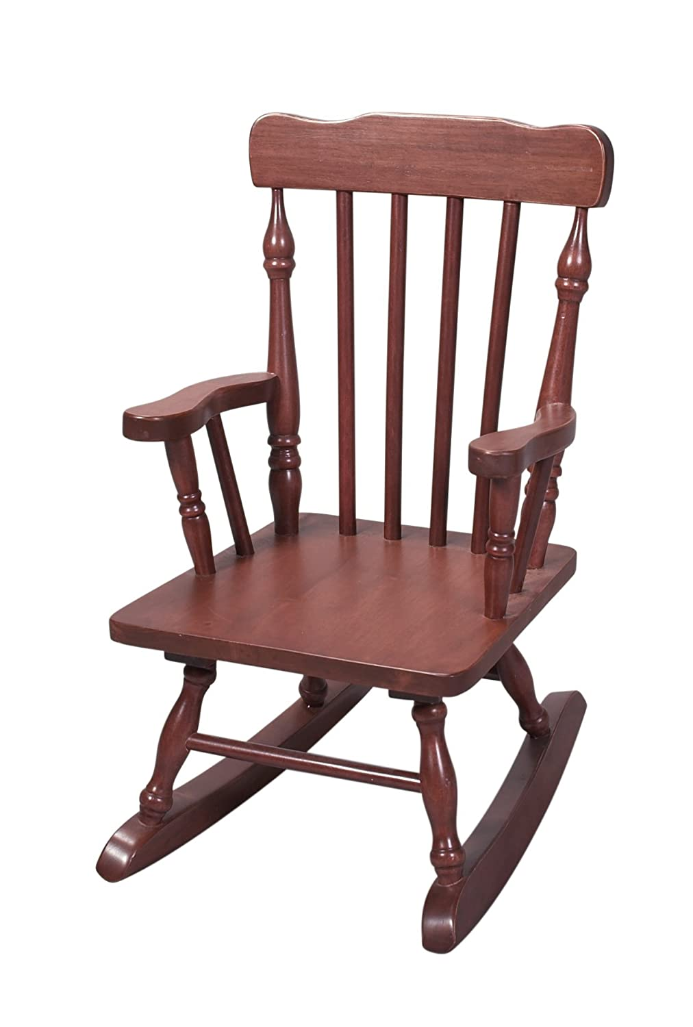 Amazon.com: Gift Mark Childu0027s Colonial Rocking Chair, Cherry: Kitchen U0026  Dining