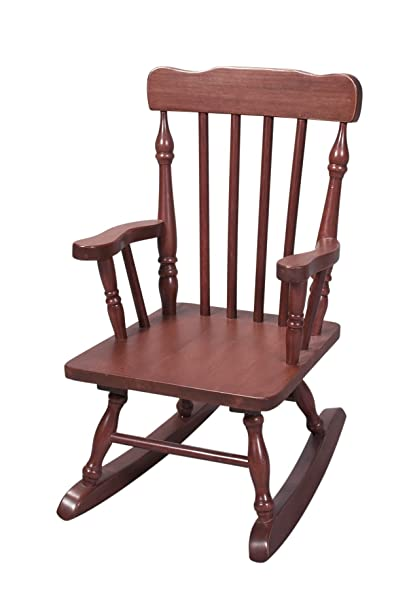 Genial Gift Mark Childu0027s Colonial Rocking Chair, Cherry