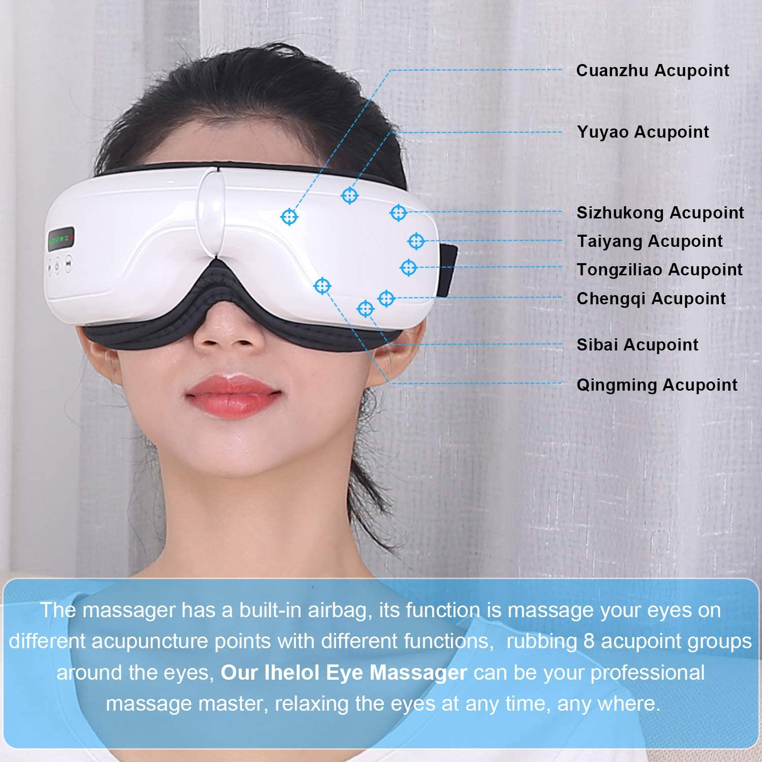 50% Off Coupon – Eye Massager With Heat