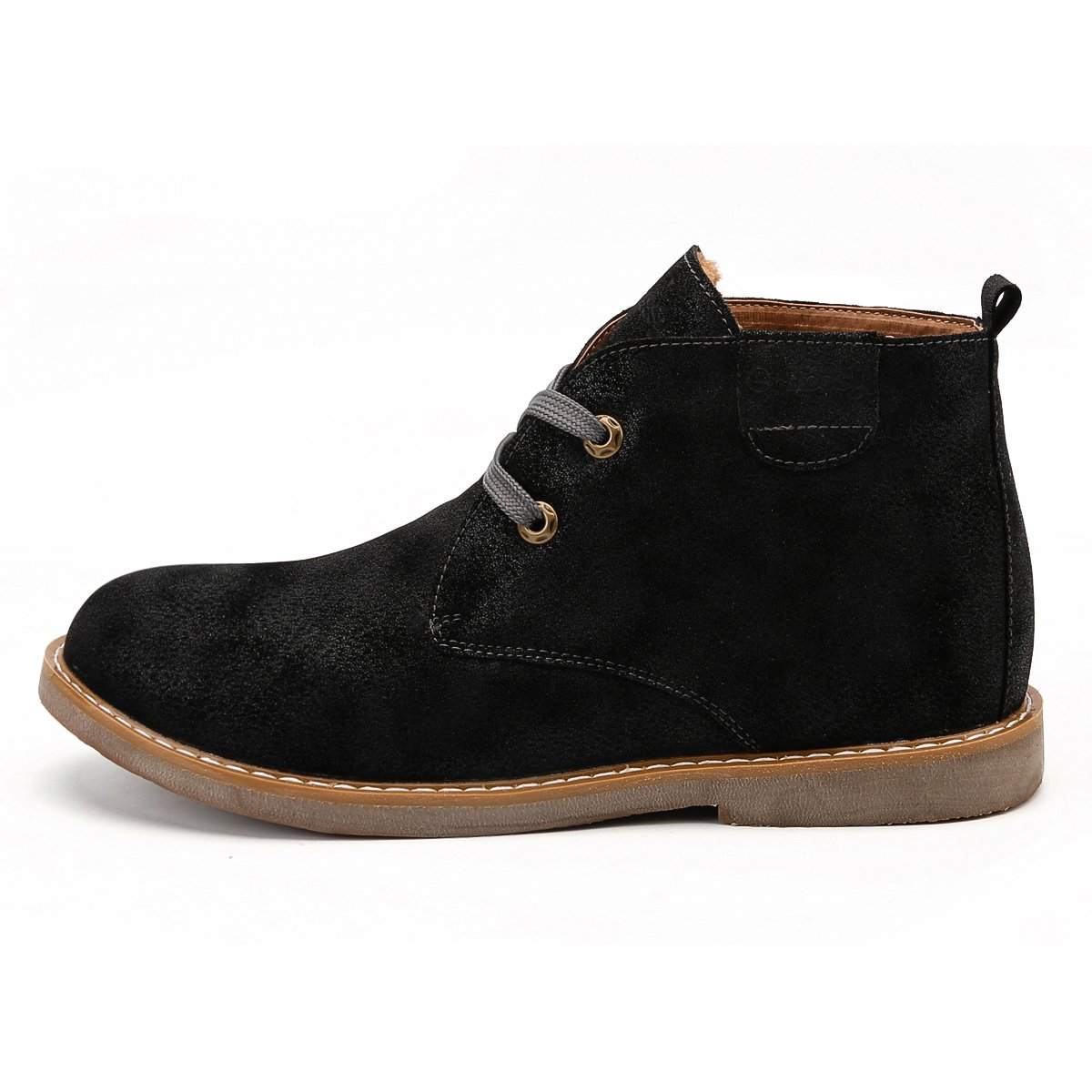 Amazon.com   gracosy Desert Boot for Men, Winter Chukka Boot Lace Up Ankle Boots Fashion Casual Shoes   Chukka