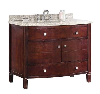 Genial Ove Decors Georgia 42 Bathroom 42 Inch Vanity Ensemble With Sandy Granite  Countertop And Ceramic