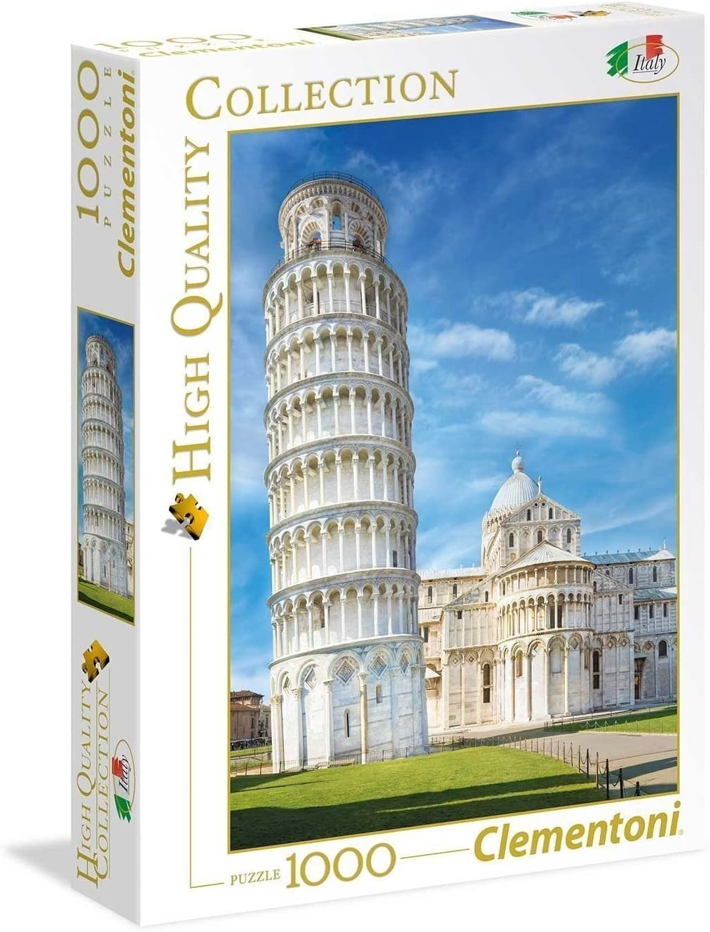 Clementoni Collection – Puzzle Pisa, 1000 Unidades, 39455