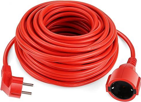 Brennenstuhl Bremaxx Verl/ängerungskabel 25m Kabel, f/ür den Einsatz im Au/ßenbereich IP44, einsetzbar bis -35/°C, /öl- und UV-best/ändig orange