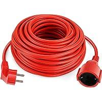 SIMBR Alargador Electrico 20m Cable Alargador Corriente IP20